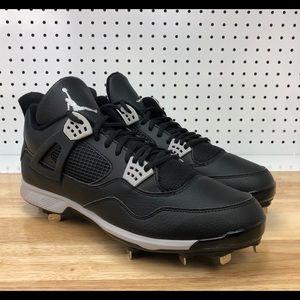 9e605d4c2 Jordan. Jordan Retro 4 Metal Baseball ...